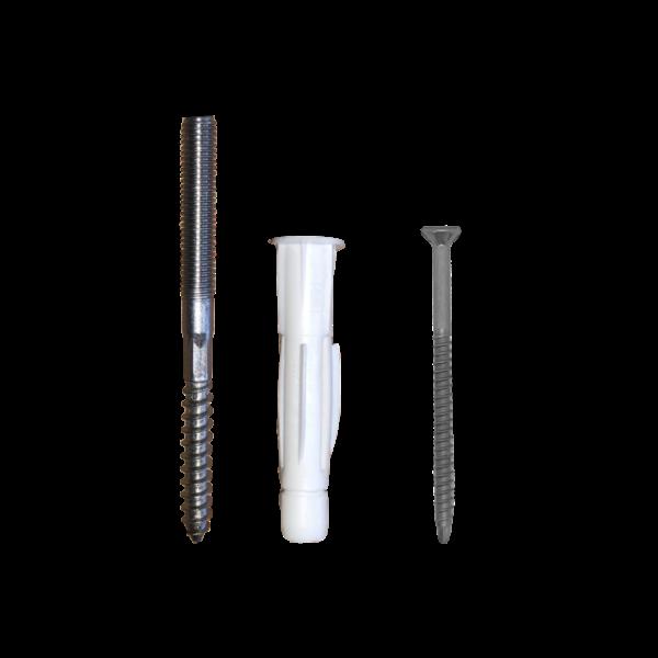 Montageset Schrauben für Holzhandlauf